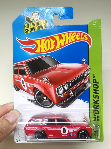 Hot Wheels Datsun 510 Wagon Red
