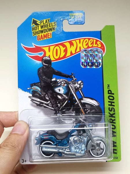 Hot Wheels Super Treasure Hunt Harley Davidson Fat Boy