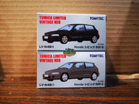 Tomytec Limited Vintage Neo LV-N48e+f Honda Civic EF SiR-II set of two