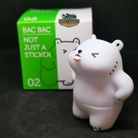 Bac Bac's Diary Not Just A Sticker 02 Vinyl Figure