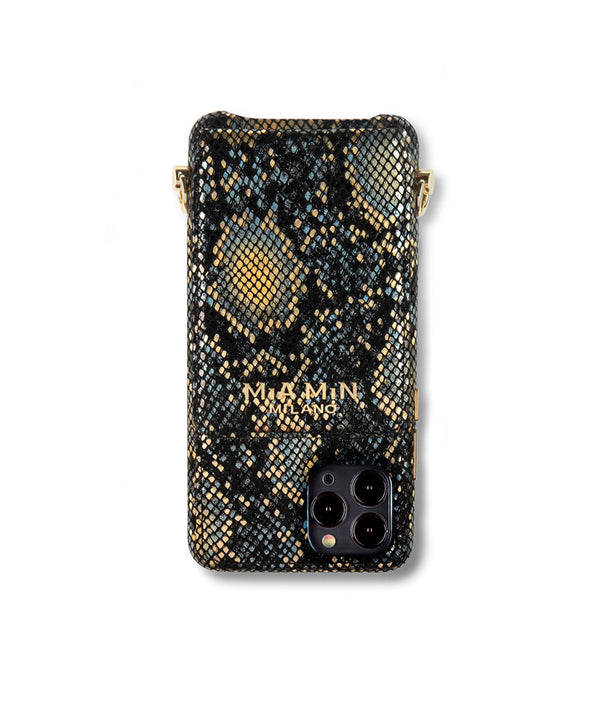 Lusso Sole - iPhone 12 Pro case made of the finest lambskin