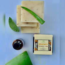 Load image into Gallery viewer, Mpatapo Soothing Eucalyptus + Aloe Natural Soap Bar