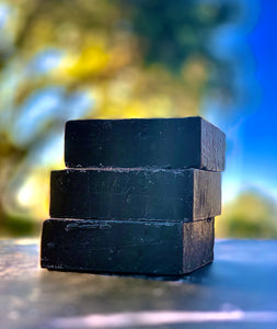 Anadwo Charcoal & Aloe Natural Soap Bar