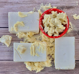 Premium Raw Shea Butter Body Soap - naturesbeautibar