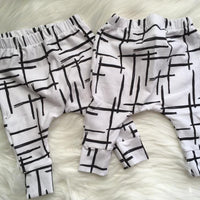 Abstract Line Legging