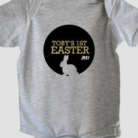 {name} 1st Easter 2017 bunny circle