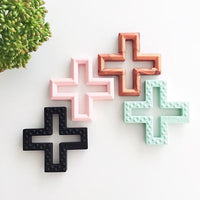 Swiss Cross Teether Toys