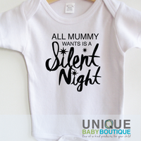 All Mummy Wants is a Silent Night