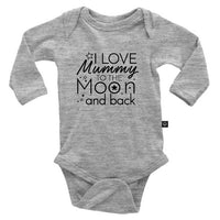 I Love Mummy To The Moon And Back Onesie