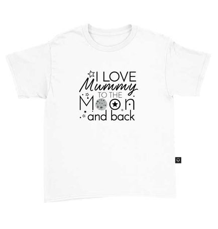 I Love Mummy To The Moon And Back T-Shirt