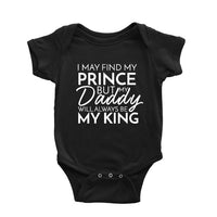 I may find my prince but my daddy will always be my king