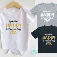 I put the happy in Father's Day 2016