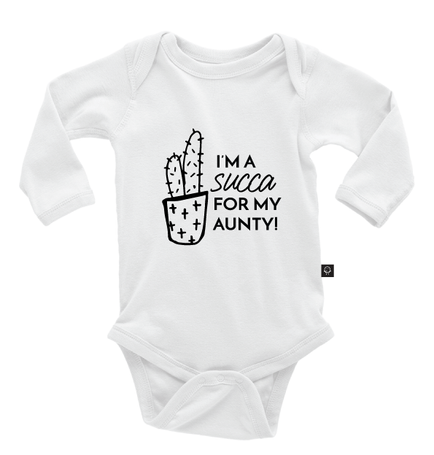 I'm A Succa For My Aunty Onesie