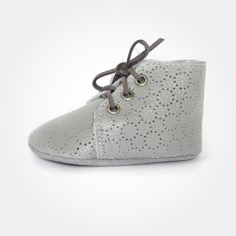 Jimmy Lace Up - Grey