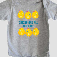 Chicks are all over me