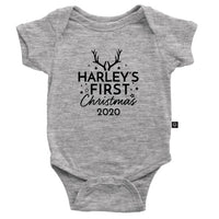 Personalised First Christmas 2020 Onesie