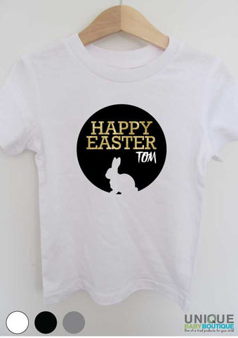 Happy Easter {personalised} t-shirt