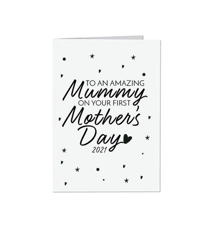 First Mother's Day Gift Card 2021