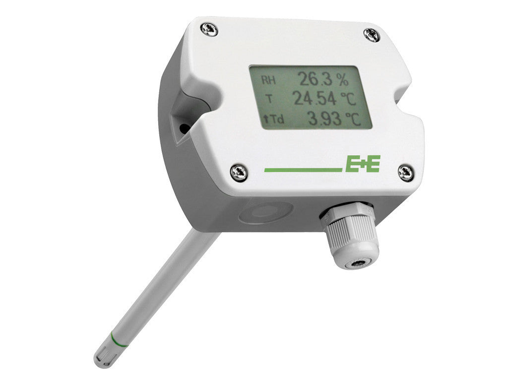 EE210 - RH / T Transmitter with Display <br> Accuracy: ±1.3% RH