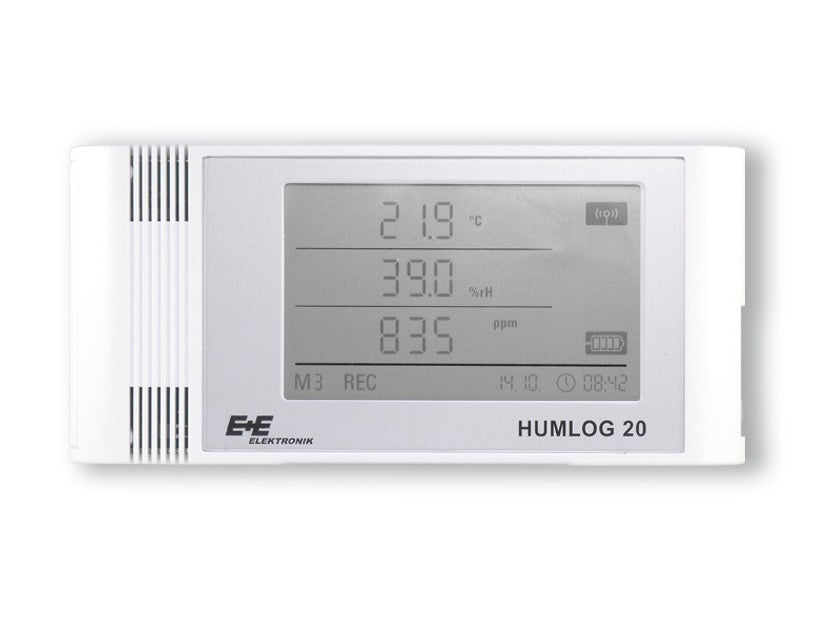 HUMLOG20 TCO - Data logger for humidity, temperature and CO2