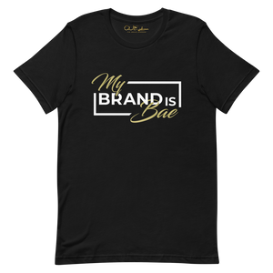 "Black ""My Brand Is Bae"" T-Shirt"