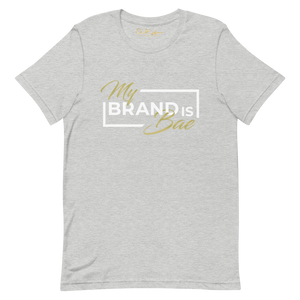 "Gray ""My Brand Is Bae"" T-Shirt"