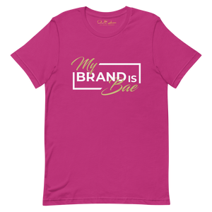 "Pink ""My Brand Is Bae"" T-Shirt"