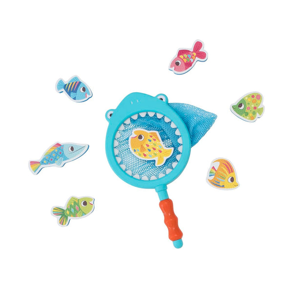 Shark Chasey Catch a Fish Bath Toy