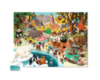 Day at the Museum Puzzle 48 pc - Zoo