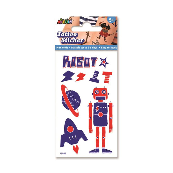 Avenir - Mini Tattoo - Robot