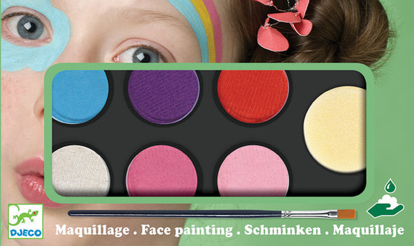 Sweet Body Art Palette 6 Colours Djeco