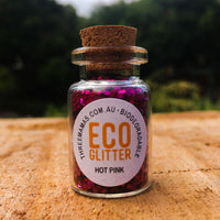 Eco Glitter Hot Pink Chunky
