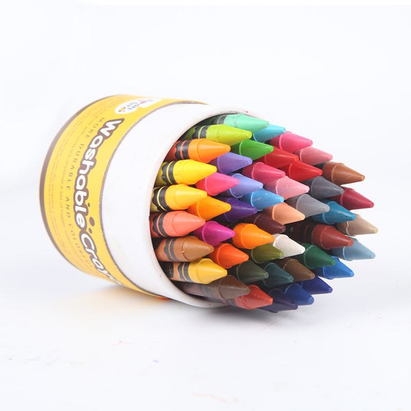 Washable Crayons 48 Colours