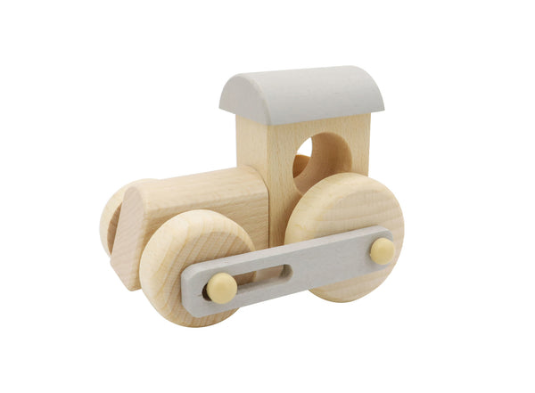 Calm and Breezy Wooden Train Engine