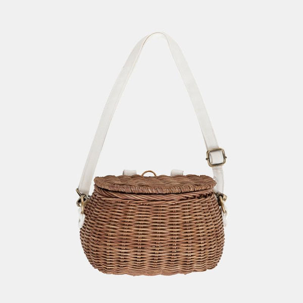 Mini Chari Bag and Bike Basket Natural