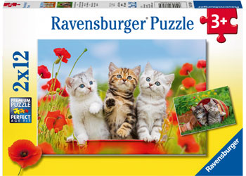 Ravensburger Kitten Adventures Puzzle 2x12 pieces