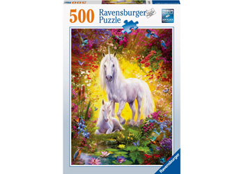 Ravensburger Unicorn and Foal Puzzle 500 pieces