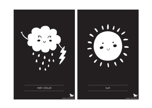 BABY HIGH CONTRAST FLASH CARDS