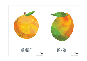 FRUIT FLASH CARDS