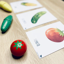 Load image into Gallery viewer, VEGETABLE FLASH CARDS