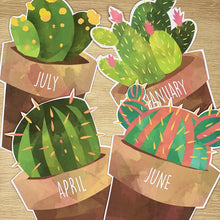 Load image into Gallery viewer, CACTUS BIRTHDAY DISPLAY