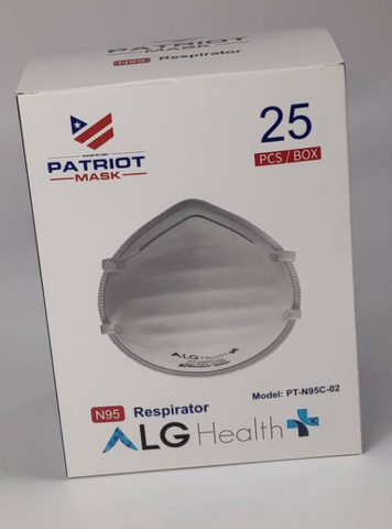 ALG N95 Face Mask - PT-N95C-02 - Made in USA