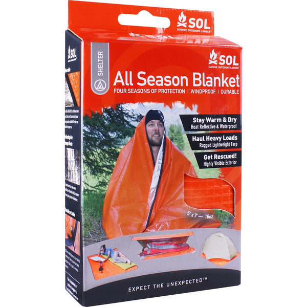 Survive Outdoors Longer All Season Blanket