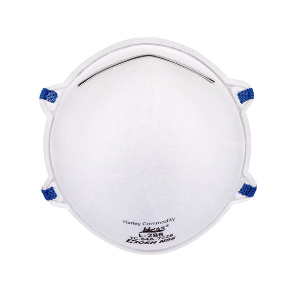 Harley N95 Respirator Face Mask - Model L-288 - NIOSH Approved