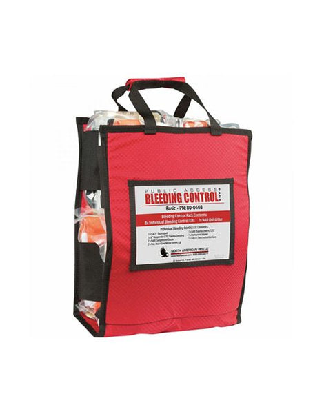 NORTH AMERICAN RESCUE PUBLIC ACCESS BLEEDING CONTROL STATION - BASIC