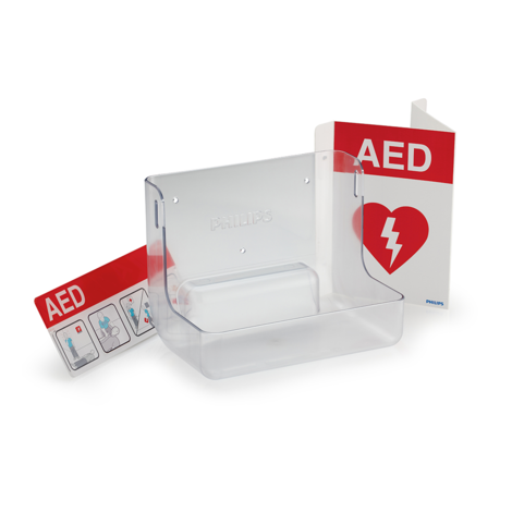 Philips HeartStart AED Wall Mount and Signage Bundle 861477