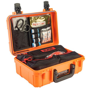 NORTH AMERICAN RESCUE RANGE TRAUMA AID KIT - HARD CASE