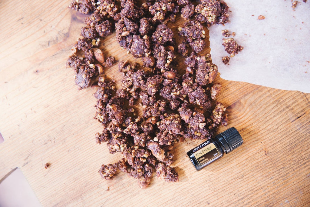Recipe - Wild Orange Cacao Crunch