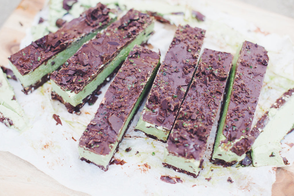Recipe - Peppermint Slice