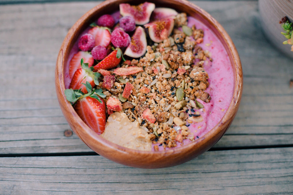 Recipe - Berry Smoothie Bowl